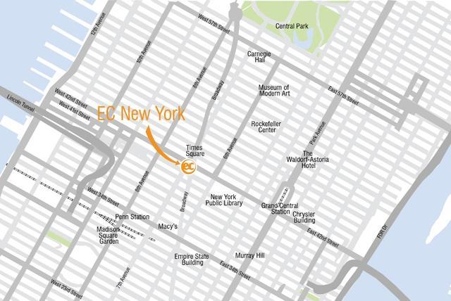EC English à New York pour votre séjour linguistique aux USA