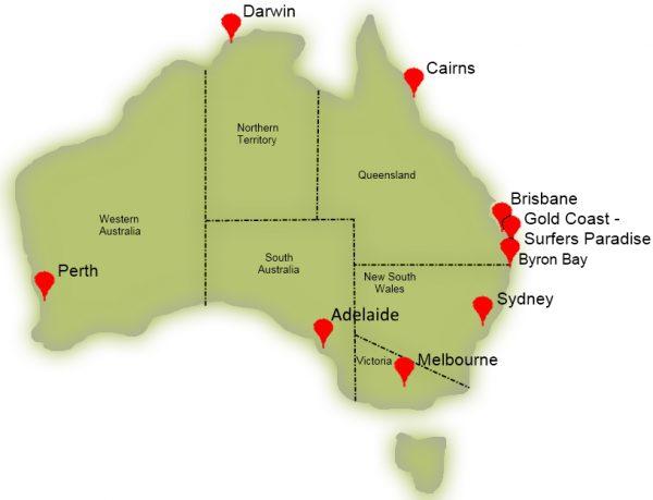 Séjour linguistique Australie - cours d'anglais en Australie