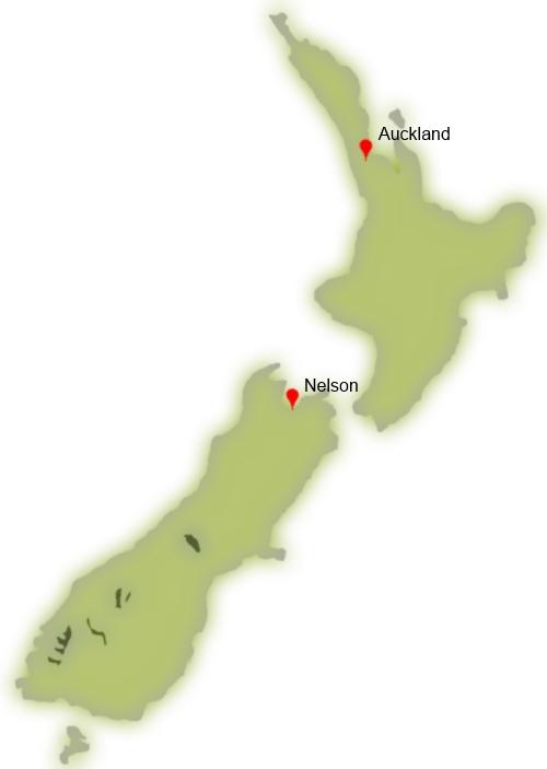 Séjour linguistique en Nouvelle-Zélande - séjour linguistique à Nelson - séjour linguistique à Auckland