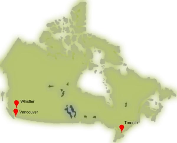 sejour linguistique au Canada - cours d'anglais au Canada