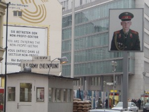 Séjour linguistique à Berlin, Checkpoint Charlie