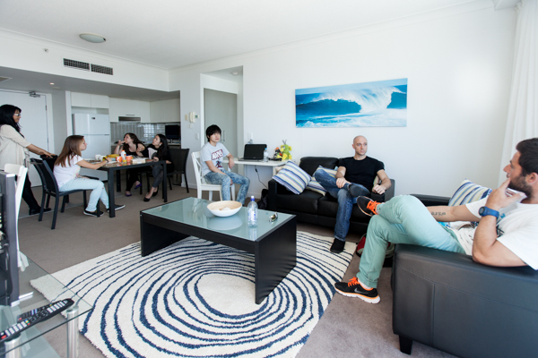 Inforum Student House Deluxe living room