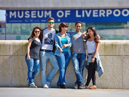 Lila étudiants en séjour linguistique à Liverpool