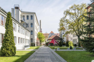 Le campus de l'école GLS à Berlin