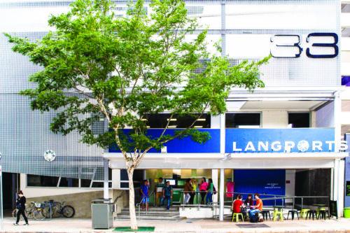 L'école Langports à Brisbane
