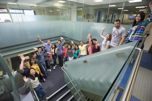 Etudiants en voyage linguistique à Brisbane
