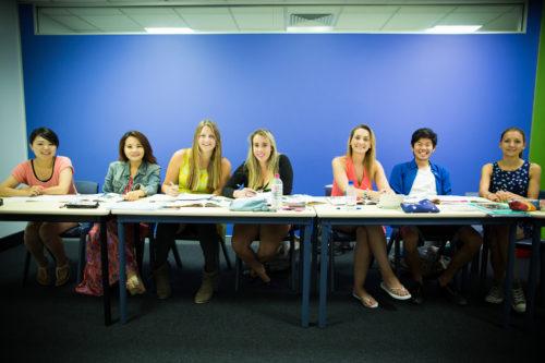 Etudiants en séjour linguistique à Langports