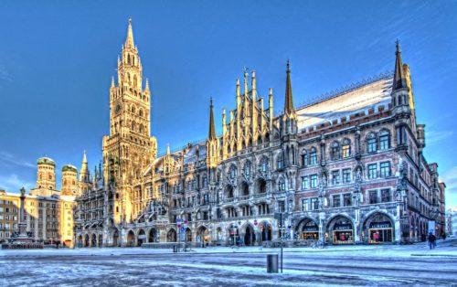 Rathaus à Munich