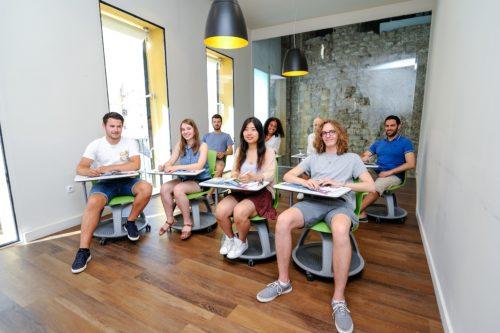 Séjour linguistique à Valencia - Salle de classe