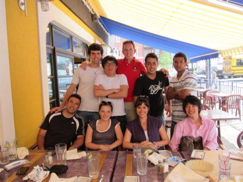 Etudiants en séjour linguistique à Toronto