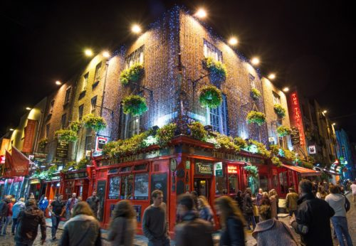 Le pub The Temple, connu à Dublin