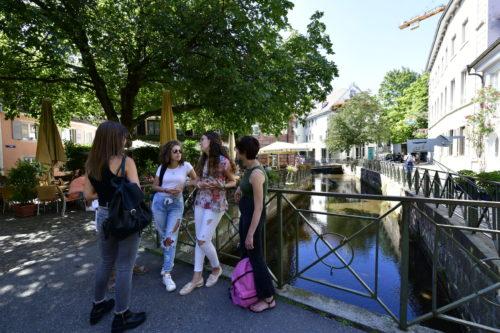 Etudiants en séjour linguistique à Freiburg