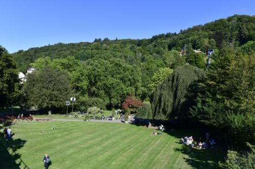 Un parc à Freiburg en Brisgau
