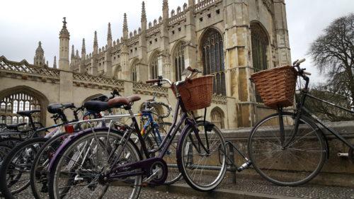 Cambridge, la ville du vélo