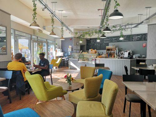 Café à l'école LSI Portsmouth