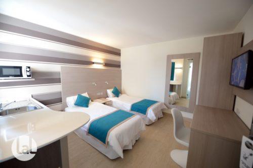 Exemple d'une chambre double dans la résidence Day's Inn